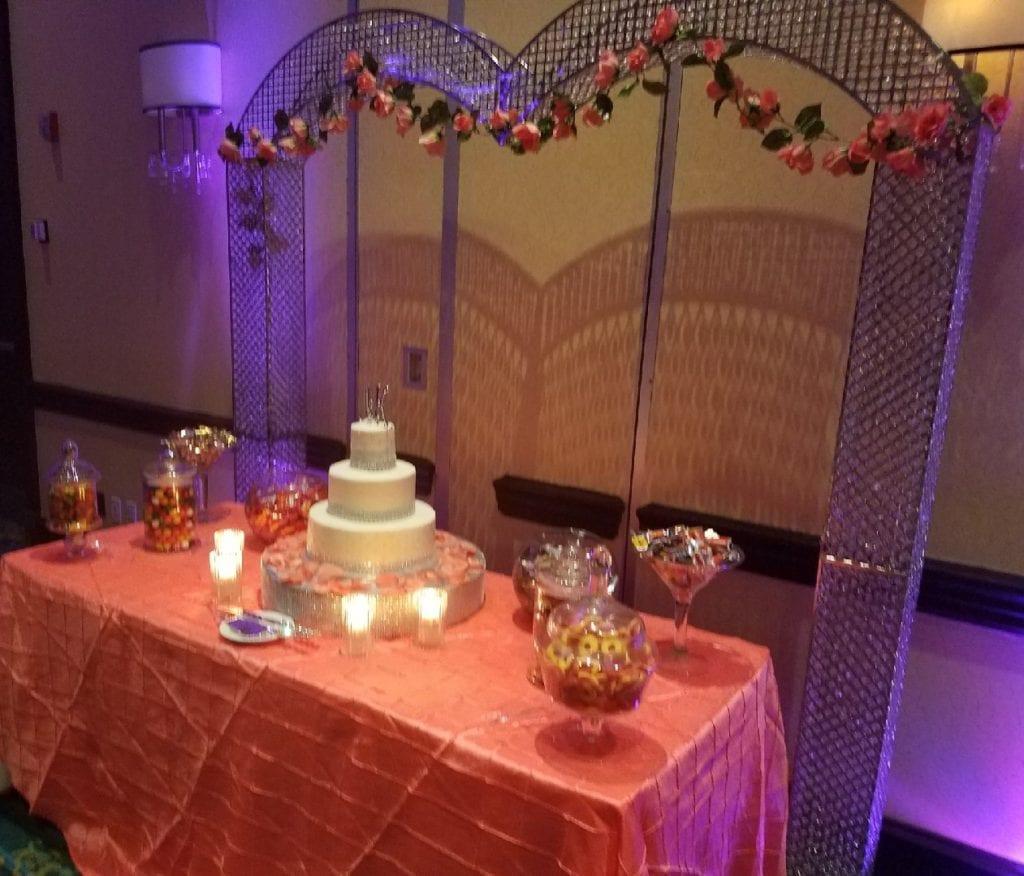 Johnson cake station