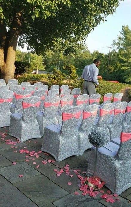 Johnson ceremony chairs