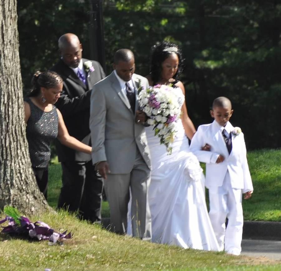 steph pic at wedding